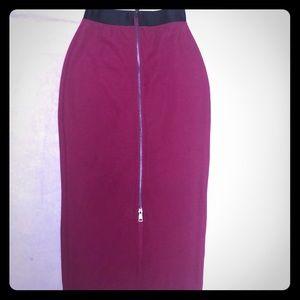 Bebe Midi Skirt
